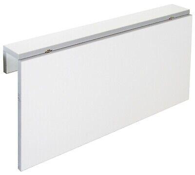 Mesa cocina plegable color blanco Vera moderno abatible funcional pared 80x10-50