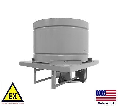 Roof Ventilator Explosion Proof Fan - 54 - 230460v - 3 Ph - 5 Hp - 39800 Cfm