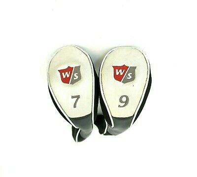 Wilson Headset (Set of 2 x Wilson Wood Head Covers)