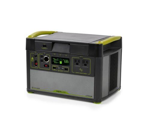 Goal Zero Yeti 1400 Lithium V2 Portable Power Station with 1500W/3000W Inverter