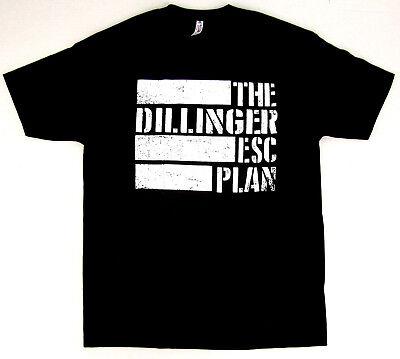 The DILLINGER ESCAPE PLAN T-shirt TDEP Flag Logo Mathcore Metal Adult S-3XL New