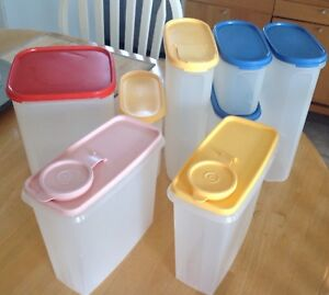 Tupperware Containers Assorted