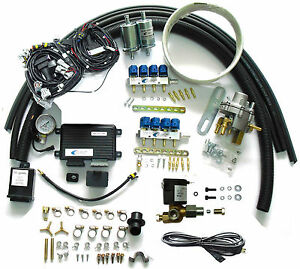 methane cng multipoint sequential injection system conversion kit for v8 efi car. Black Bedroom Furniture Sets. Home Design Ideas