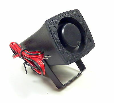 Velleman Mini Piezo Car Alarm Siren Horn 6-12V DC 107dB With Leads
