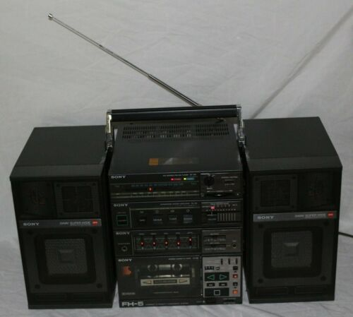 Vintage Boombox Sony FH-5