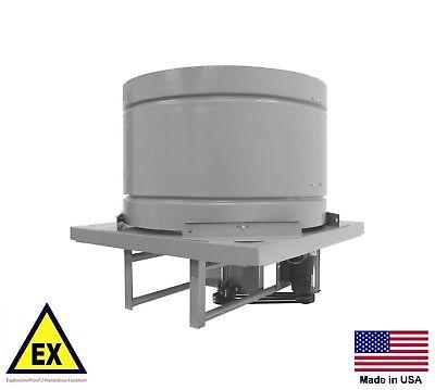 Roof Ventilator Fan - Explosion Proof - 54 - 5 Hp - 38900 Cfm - 230460v