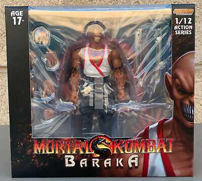 Storm Collectibles - Mortal Kombat - Baraka 1:12 Scale Action Figure - Baraka Mortal Kombat