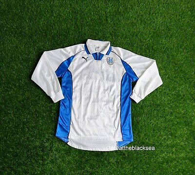 ISRAEL NATIONAL TEA 1998 2000 HOME FOOTBALL SOCCER SHIRT JERSEY PUMA MEN M image