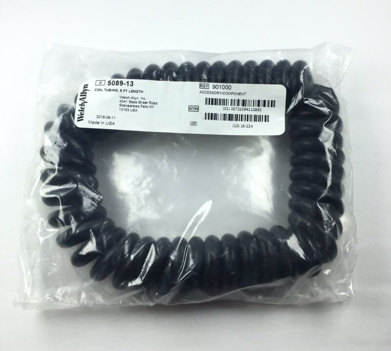 NEW Genuine Welch Allyn #5089-13 Coil Tubing, 8 Foot Length (901000) USA seller