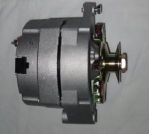 6 volt alternator ebay cs144 alternator wiring ford model a 6 volt 60 amp 1 wire alternator positive ground w pulley