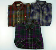 Flannel Shirt Lot XL
