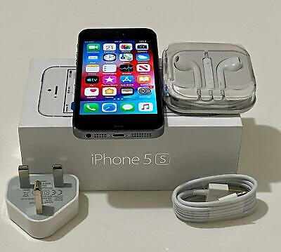 Apple iPhone 5S 16G-Space grey- Factory Unlocked iOS Smartphone boxed warranty