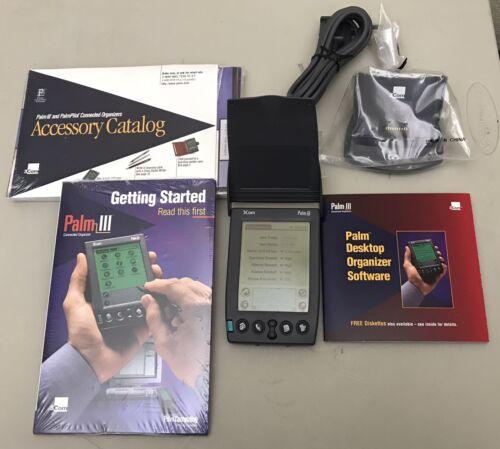 Palm Pilot 3Com Palm III with Accessories nice