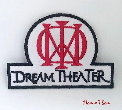 Dream Theater Grupo Heavy Metal Coser/Parche con Plancha Parche Bordado