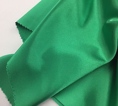 Green 60inch 2 Way Stretch Charmeuse Satin-super Soft Silky Satin-by The Yard. - Green Stretch Satin