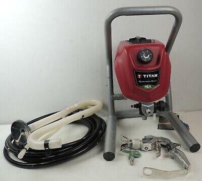 Titan Controlmax 1700 High Efficiency Airless Paint Sprayer 0.6 Hp 0580009