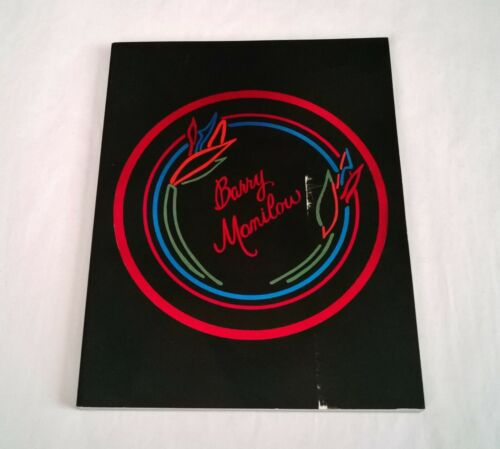 Rare 1985 BARRY MANILOW Honoree ST. JUDE HOSPITAL Annual Dinner PROGRAM - L.A.CA