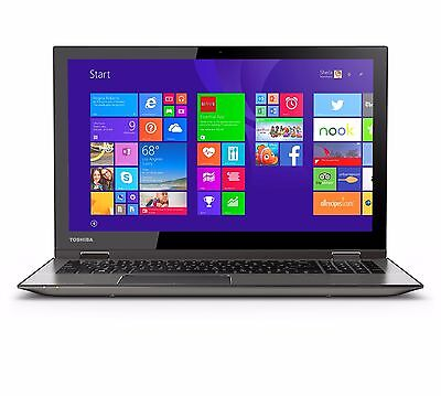 "Toshiba Satellite 15.6"" E1-2100 1GHz 4GB RAM 500GB HDD Win8.1 C55D-B5308 R"
