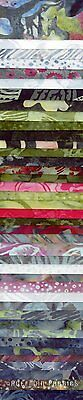 BP 614 Bohemian Hoffman Fabrics Bali Pops Cotton 2 1/2 inch Fabric Strips