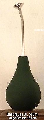** NEU **  BONSAI Ballbrause grün XL 500ml - lange Brause - Gießen, Nass Filzen