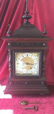 Great Quality & Large German Bracket Clock By Winterhalder & Hofmeier