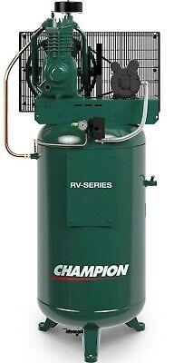 Champion 5 Hp 2 Stage 1 Phase 230 Volt 19.1 Cfm Air Compressor 318vn Belaire