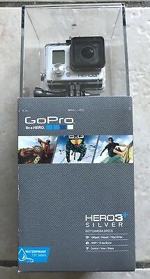 GoPro Camera Leading man3+ Silver Bundle HD WiFi Remote Lowepro Incase Dual Battery NEW