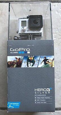 GoPro Camera Protagonist3+ Silver Bundle HD WiFi Remote Lowepro Incase Dual Battery NEW