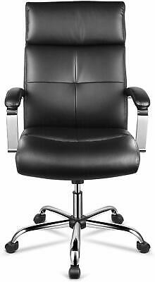 Intey High-back Office Chair Leather Surface Padded Armrests And Adjustable Se