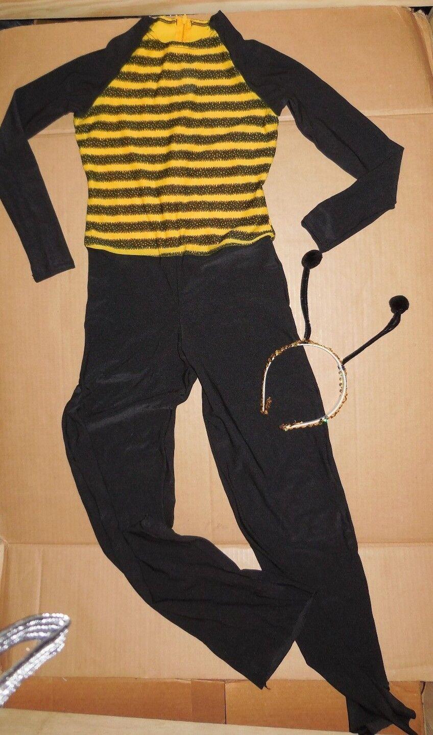 Bee Buzz Unitard Hornet Dance Costume Theatrical Unisex Z...