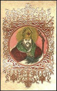 SANTINO-HOLY-CARD-IMAGE-PIEUSE-SAN-CLAUDIO-VESCOVO-ABATE-DI-CONDAT