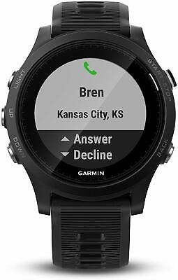 Garmin Forerunner 935 Running & Triathlon GPS Heart Rate Monitor Watch Black