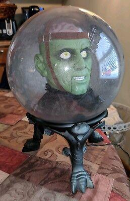 Gemmy Monster Spirit Ball Animated Head Talking Halloween Works RARE HTF EUC (Gemmy Halloween Spirit Ball)