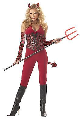 Sexy She Devil Adult Womens Halloween Costume Party Cosplay Roleplay Size Small](Womens Halloween Costumes Devil)