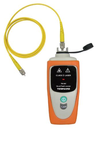 TM-904 Fiber Fault Locator: Visually Detects Damaged/Defective Fiber Optic Cable