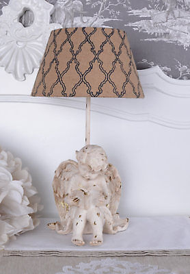 Table lamp country house style lamp angel table lamp fabricshade lamp cupid new
