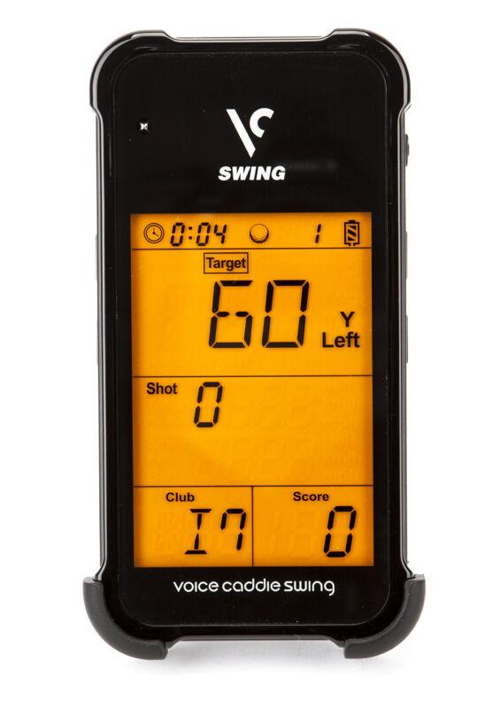 New Voice Caddie Golf Swing Caddie Portable Launch Monitor SC100 Black