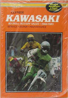 CLYMER WORKSHOP MANUAL - KAWASAKI 80cc to 350cc ROTARY VALVE