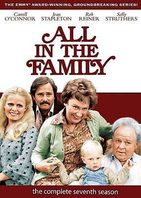 All In The Family The Complete Seventh Season 7 Dvd Set 3 Disc Brand New Sealed
