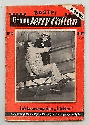 Jerry Cotton 1. Auflage Nummer 13 ( 3 ) Bastei Verlag