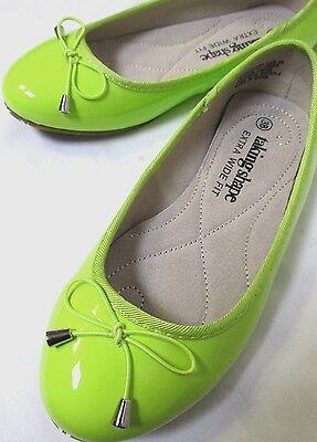 TS shoes TAKING SHAPE sz 6 / 37 Bella Patent Leather Ballet Flats comfy chic NIB 2