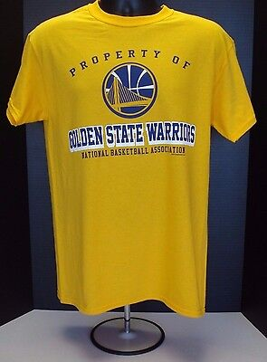 Golden State Warriors Adult Gold T-Shirt - New With Tags! FREE SHIPPING! - Gold State Warriors