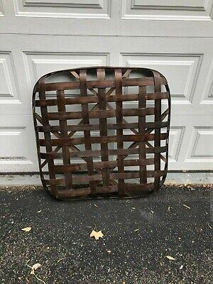 Antique Original Tennessee Tobacco Basket Handmade Great Quality & Details