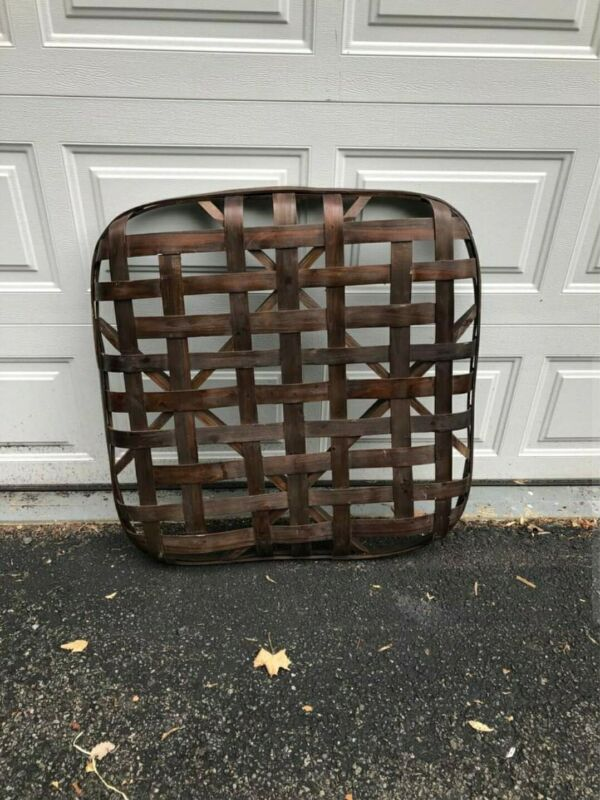 Antique Original Tennessee Tobacco Basket Handmade Great Quality & Details