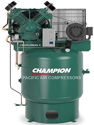 THE BEST AIR COMPRESSOR 7.5hp , Two Stage , Single Phase 80Gal Vertical  NEW