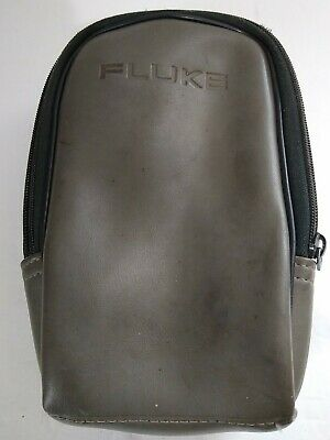 Fluke Multimeter Holster Soft Case Pouch Zipper Genuine