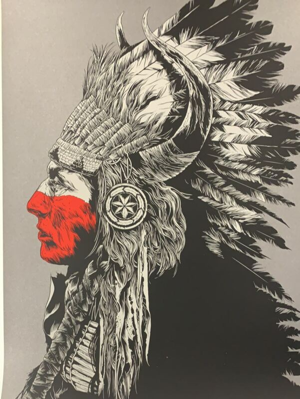 Untitled (Sioux City) - 2016 Ken Taylor Poster Art Print 96/100
