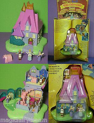 Polly Pocket Mini Disney NEU ♥ Cinderella ♥ Stepmother's House ♥ OVP ♥ NEW ♥1995