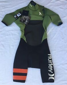 Hurley Fusion 202 Wetsuit Spring Suit Men's Size Small Retail $175