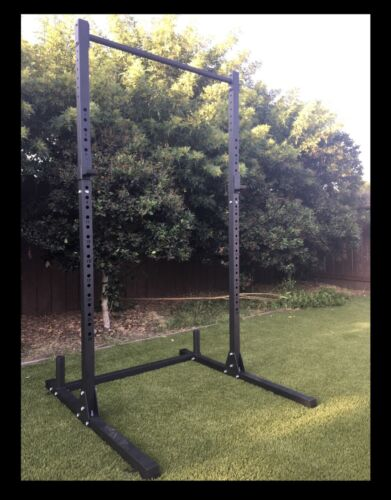 New Squat Rack, Power Cage, Pull Up Bar, Bench Press, In Sto